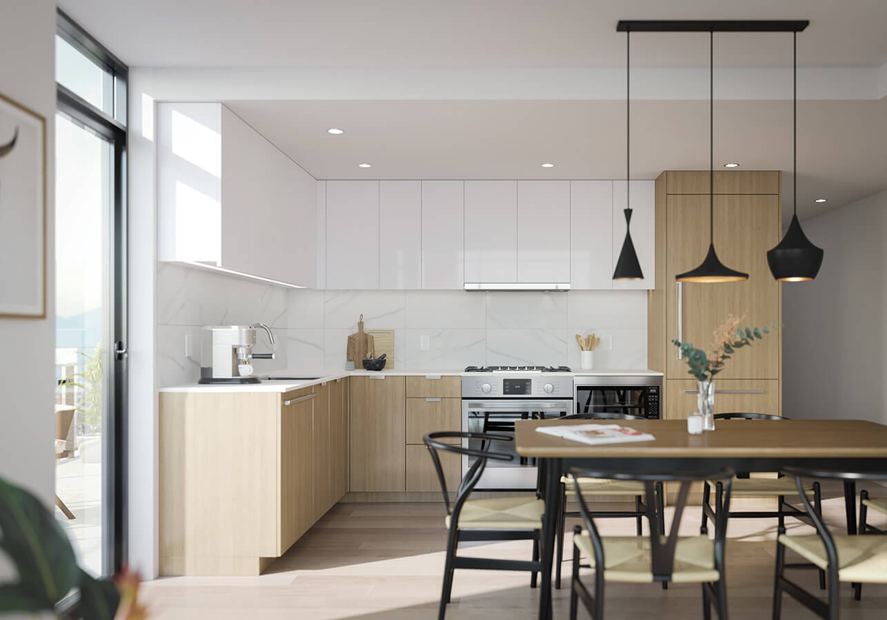 Kitchen - White Scheme - SOCO by Anthem
