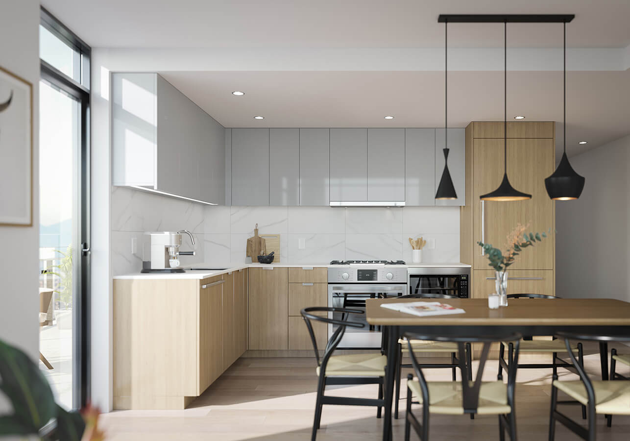 Kitchen - Grey Scheme - SOCO by Anthem